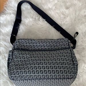 Fendi authentic diaper bag with changing pad